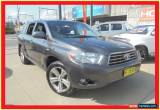 Classic 2010 Toyota Kluger GSU40R KX-S Grey Automatic 5sp A Wagon for Sale