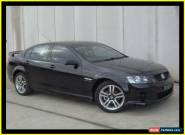 2010 Holden Commodore VE MY10 SV6 Black Automatic 6sp A Sedan for Sale
