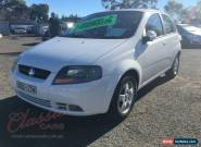 2006 Holden Barina TK White Automatic 4sp A Hatchback for Sale