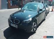 BMW 523i 2.5L 2007 Black Luxury Car for Sale