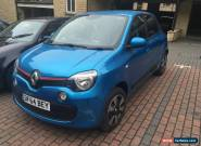 2015 RENAULT TWINGO PLAY BLUE 1.0 SCE 5dr DAMAGE REPAIRED CAT D NEW SHAPE for Sale