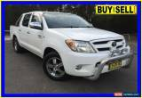 Classic 2007 Toyota Hilux GGN15R 07 Upgrade SR5 White Automatic 5sp A Dual Cab Pick-up for Sale