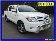 2007 Toyota Hilux GGN15R 07 Upgrade SR5 White Automatic 5sp A Dual Cab Pick-up for Sale