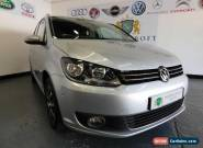 VOLKSWAGEN TOURAN 2.0 SPORT TDI 2011 Diesel Manual in Silver for Sale