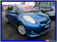 2008 Toyota Yaris NCP91R 08 Upgrade YRX Blue Manual 5sp M Hatchback for Sale