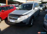 2010 Holden Captiva CG MY10 SX (FWD) Silver Automatic 5sp A Wagon for Sale