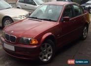 STUNNING 2000 BMW 318 I SE RED for Sale