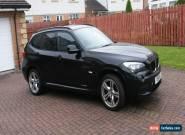 2011 BMW X1 XDRIVE 20D M SPORT AUTO BLACK for Sale