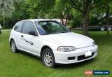 Classic Honda: Civic VX for Sale