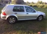 2003 Volkswagen VW Golf 1.6 MK4 Spares or Repair for Sale