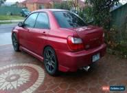 2001 Subaru Wrx for Sale