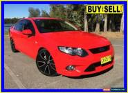 2010 Ford Falcon FG XR6T Red Automatic 6sp A Sedan for Sale