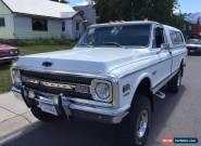 1970 Chevrolet C/K Pickup 1500 CST for Sale