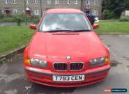 1999 BMW 323I SE AUTO RED for Sale