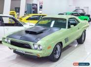1973 Dodge Challenger Green Automatic A Coupe for Sale