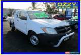 Classic 2006 Toyota Hilux GGN15R SR White Automatic 5sp A Extracab for Sale