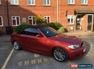 2009 BMW 120D M SPORT RED for Sale