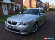 2006 BMW 525D M SPORT AUTO SILVER for Sale
