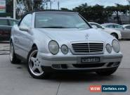 1999 Mercedes-Benz CLK230 Komp Elegance Silver Automatic 5sp A Cabriolet for Sale