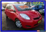 Classic 2008 Toyota Yaris NCP90R YR Red Manual 5sp M Hatchback for Sale