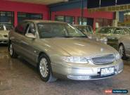 2002 Holden Caprice Whii Tungsten Automatic 4sp A Sedan for Sale
