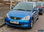 2004 HONDA CIVIC SE BLUE for Sale