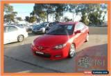 Classic 2006 Mazda 3 BK SP23 Red Manual 5sp M Sedan for Sale