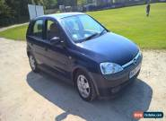 2004 OPEL Vauxhall CORSA ELEGANCE 1.2 16V BLUE for Sale