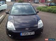 Ford Fiesta Zetec 2004 (54) 1.4 3 door Black 71k low miles for Sale