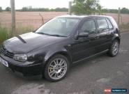 2002 VOLKSWAGEN GOLF GTI TURBO BLACK for Sale