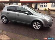 2010 VAUXHALL CORSA SXI SILVER 1.4/ 72000 miles/ 1 year MOT/ very good condition for Sale