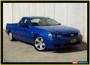 2006 Ford Falcon BF XL (LPG) Blue Automatic 4sp A Utility for Sale