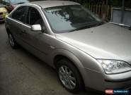2004 FORD MONDEO LX SILVER spares or repair for Sale