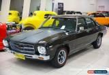 Classic 1974 Holden Monaro HQ GTS Black Manual 4sp M Sedan for Sale