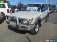 1999 Toyota Landcruiser Prado VZJ95R Snowy (4x4) White Automatic 4sp A Wagon for Sale