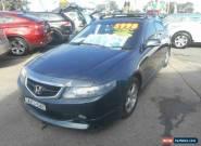 2003 Honda Accord Euro Luxury Grey Automatic 5sp A Sedan for Sale