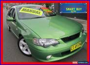 2005 Ford Falcon BA MkII XR6 Green Manual 5sp M Sedan for Sale