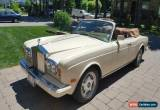 Classic 1989 Rolls-Royce Corniche for Sale
