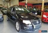 Classic 2006 Volkswagen Passat 3C 2.0 TDI Black Automatic 6sp A Sedan for Sale