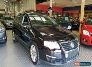 2006 Volkswagen Passat 3C 2.0 TDI Black Automatic 6sp A Sedan for Sale