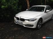2012 BMW 318D SPORT WHITE NON RUNNER SPARES OR REPAIR for Sale