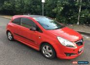 2007 VAUXHALL CORSA 1.4 SXI LIMITED EDITION STARTS AND DRIVES SPARES OR REPAIR for Sale