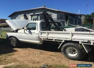 1978 FORD F100 LONG WHEEL BASE 4WD TRAY BACK FOLD SIDE WITH CRANE for Sale
