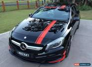 2014 Mercedes-Benz A45 176 MY14 AMG Cosmos Black Automatic 7sp A Hatchback for Sale