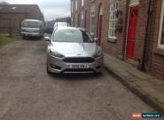 2015 FORD FOCUS ZETEC S TDCI SILVER for Sale