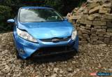 Classic 2009 FORD FIESTA ZETEC 82 BLUE SPARES OR REPAIR DAMAGED SALVAGE for Sale