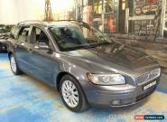 2005 Volvo V50 MY04 SE Metallic Grey Automatic 5sp A Wagon for Sale