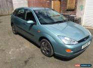 Ford Focus 1.4 petrol 2001 mot'd manual green for Sale