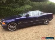 1996 BMW 320 I AUTO BLUE for Sale