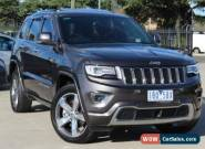 2013 Jeep Grand Cherokee WK MY14 Overland (4x4) Grey Automatic 8sp A Wagon for Sale